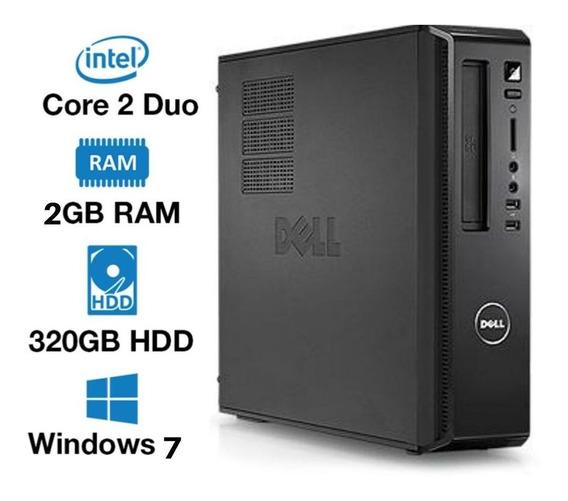Pc Dell Core 2 Duo 320gb 2gb Windows 7 Usado