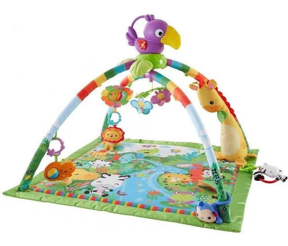Fisher Price Ginásio Floresta Com Luzes E Som - Mattel