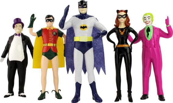Batman Boxed Bendable Set Classic Tv Series Nj Croce