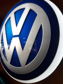 Luminoso Decorativo Vw Marcas Carro Volkswagen Garagem Bar