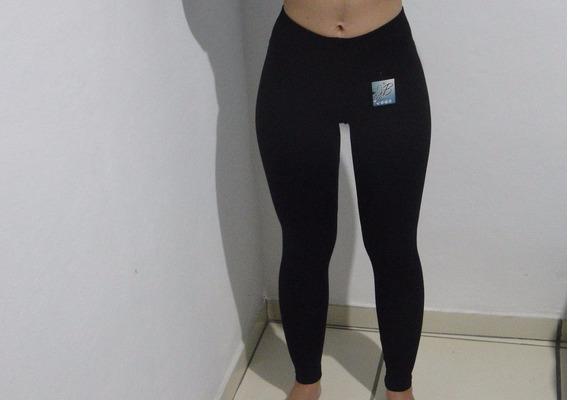 Kit Com 7 Legging Cotton Mais 1 Short Cintura Alta