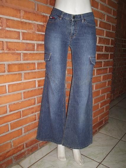 Calça Jeans Flare Tommy Hilfiger Tamanho M