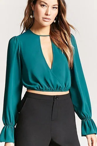 Crop Top Forever 21 Talla Chica