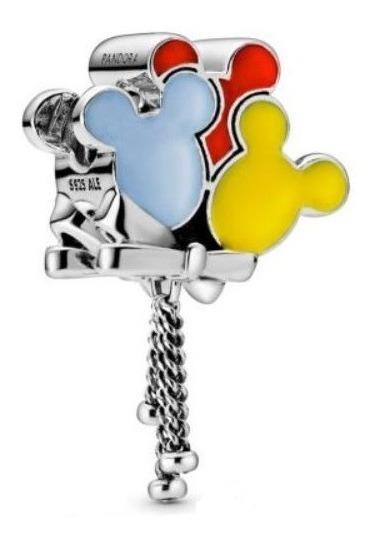 Pandora Charm Disney Parks Globos Silueta Mickey
