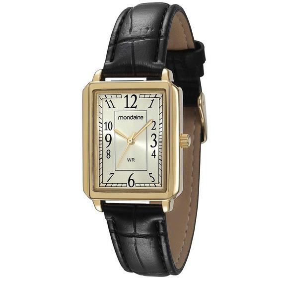 Relógio Mondaine 83280lpmvdh1-l3/4 Couro Original