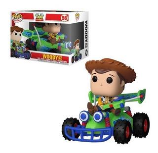 Funko Pop Woody Con Rc Carro Toy Story Disney Original