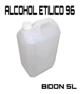 Alcohol Etílico 96 % X 5lts