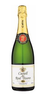Dia Del Amigo Champagne Cava Real Tesoro Brut Español