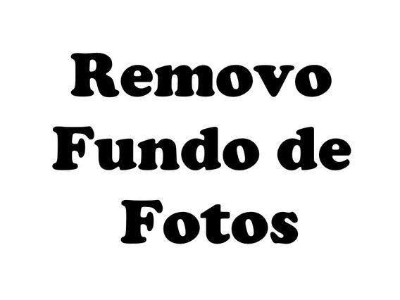 Removo Fundo De Imagens