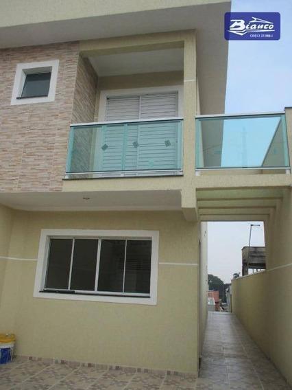 Sobrado Com 3 Dormitórios À Venda, 110 M² Por R$ 450.000 - Jardim Cumbica - Guarulhos/sp - So1382