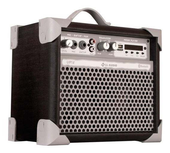 Caixa Ativa Amplificada Multiuso Up5 35w Rms Bluetooth Nca