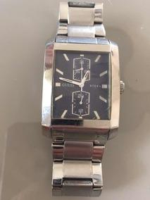 Relógio De Aço Guess Steel (leia Detalhe No Anúncio)