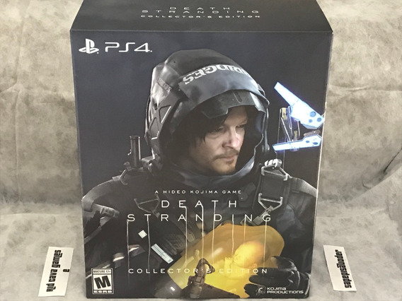 Death Stranding Collector´s Edition Ps4 - Pronta Entrega