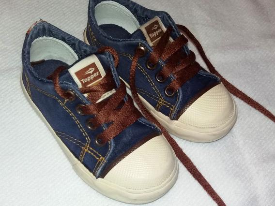 Topper Zapatillas Jean - Impecables Talle 24