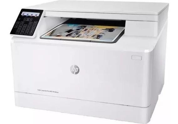 Impressora Laserjet Multifuncional Hp Color Hp Pro M180 110v