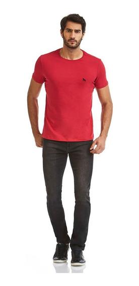 Camiseta Acostamento Masculino Vermelho