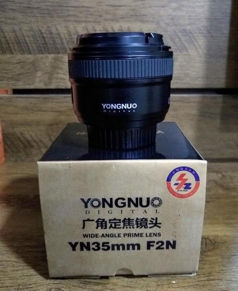 Lente 35mm Yongnuo F2n (nikon)