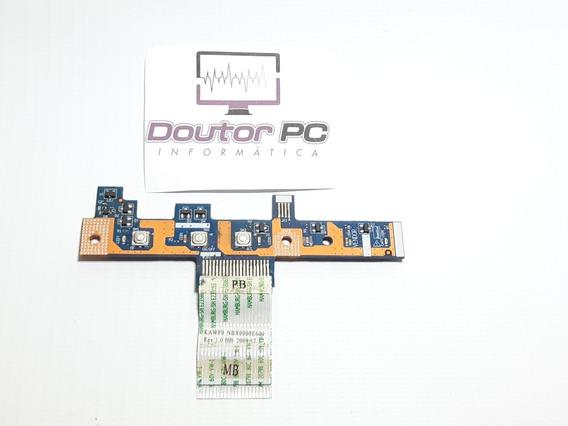 Placa Botão Power Ls 4851p Acer Aspire + Cabo Flat (706)