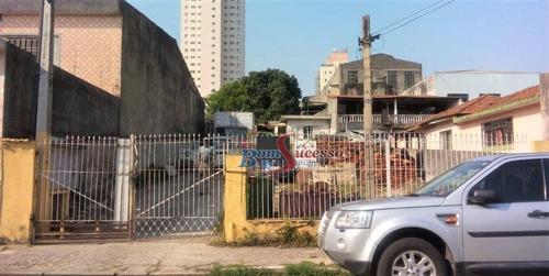 Imagem 1 de 3 de Terreno À Venda, 500 M² Por R$ 1.500.000,00 - Jardim Independência - São Paulo/sp - Te0385