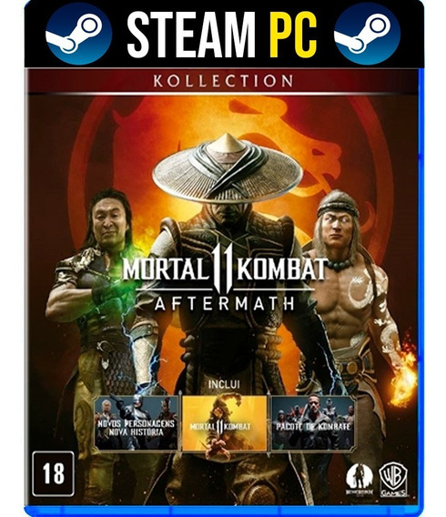 Mortal Kombat 11 Aftermath + Shao Kan - Pc Steam Offline