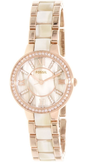 Reloj Fossil Virginia Rose Dial Rose Gold-tone Es3716