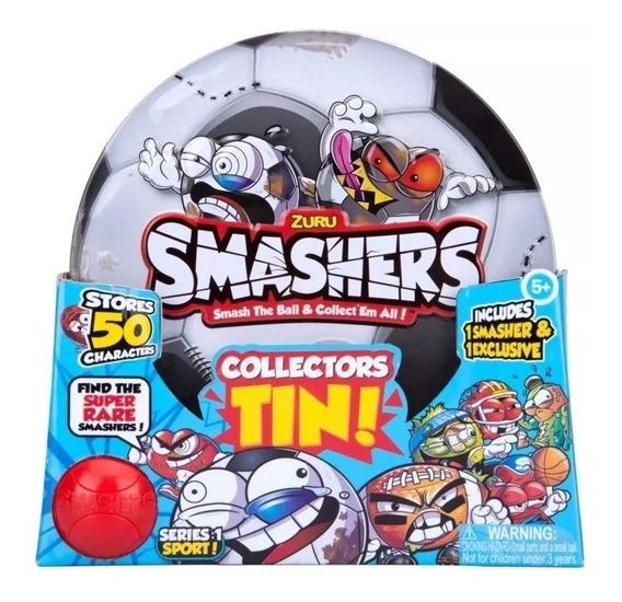 Smashers Lata Para Guardar 50 Tin! De Futbol O Basquet