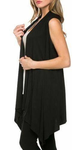 M - Black - Abrigos De Mujer Cardigan Casual Suelta Irr-1521
