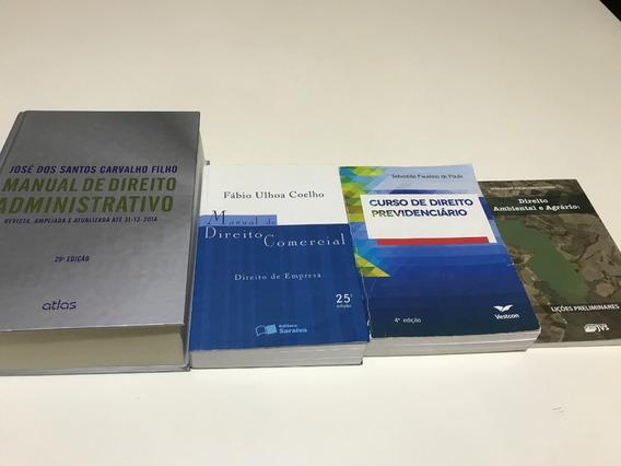 Kit Com 4 Livros De Direito