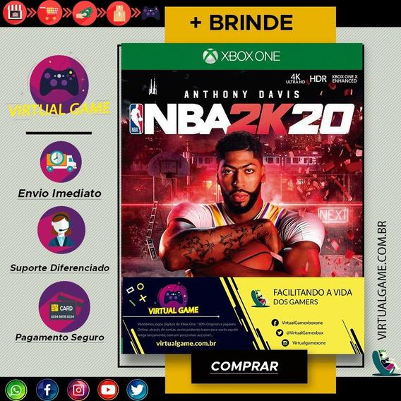 Nba 2k20 - Jogo Xbox One - Midia Digital - Pre Venda