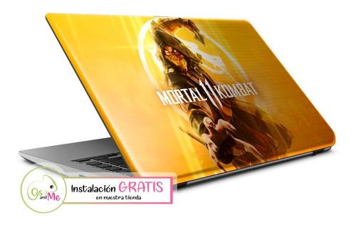 Skin Autoadhesivo Modelos Video Juegos Laptop + Instalacion