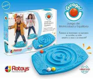 Juego Equilibrio Rotoys Giragol Laberinto Casa Valente