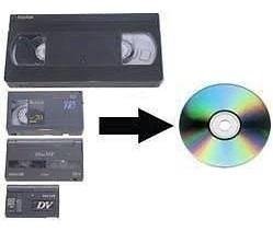 Vhs A Dvd! No Pierdas Tus Recuerdos!! Mexicali!