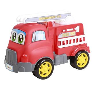 Brinquedo Carrinho Turbo Truck Bombeiro Maral 4134