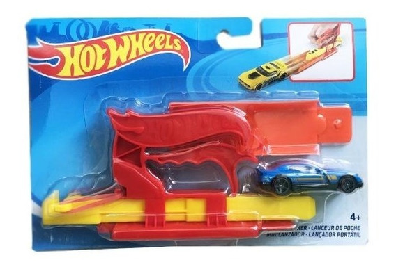 Hot Wheels Auto Lanzador De Bolsillo Original Fth84