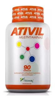 Ativil Multivitaminas Antioxidante 90 Cpas