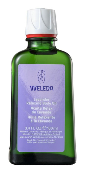 Weleda Lavanda Relaxante - Óleo Corporal 100ml Blz