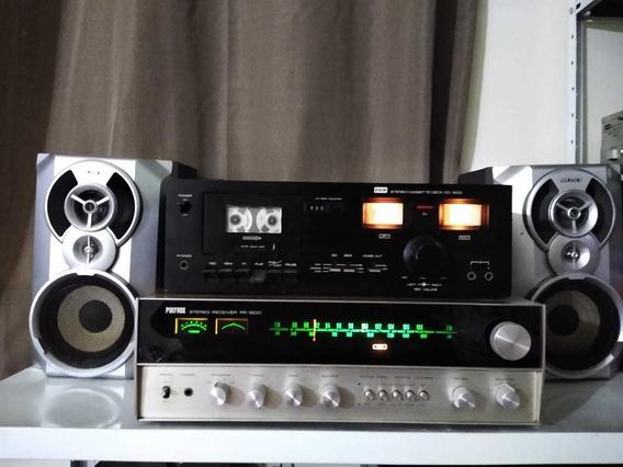 Tape Deck Cd 1200 Cce Funcionando.(testado)