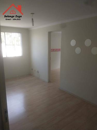 Imagem 1 de 15 de Excelente Apartamento Com 48m² E Com 2 Dormitórios - 2192