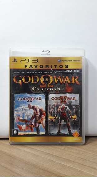 God Of War Collection Ps3 Usado.