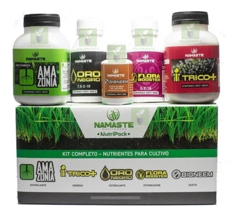 Nutripack Namaste Fertilizantes Kit Completo Cultivo