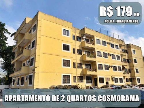 Amplo Apartamento De 2 Quartos Para Venda Em Cosmorama - Mesquita - Siap20018