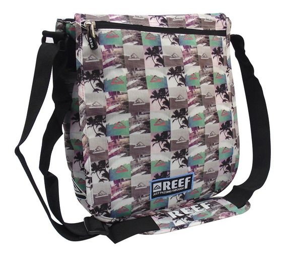 Morral Portanotebook Universitario Reef Estampado Rf 356
