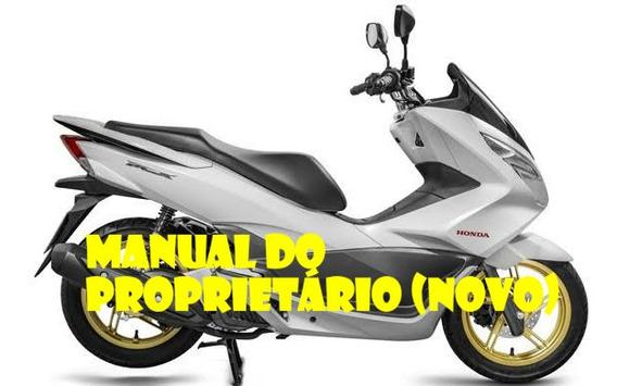 Manual Do Proprietário Honda Pcx 150 2016 (novo)