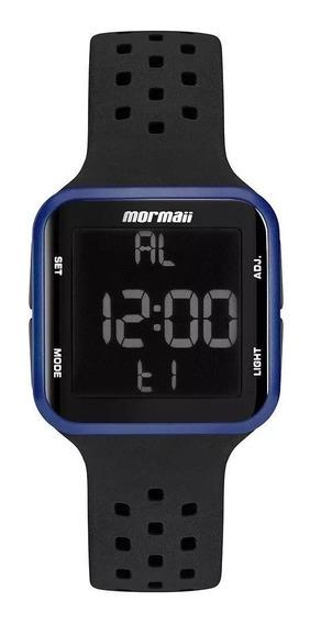 Relógio Mormaii Unissex Preto Original Wave C/nf Mo6600ab/8a