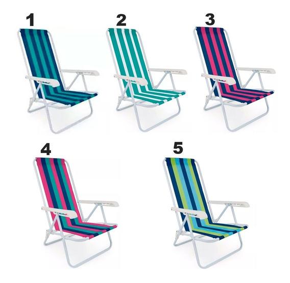 Cadeira Reclinável Mor 4 Posições - Escolha A Cor