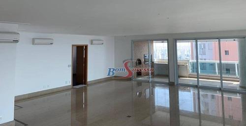 Imagem 1 de 25 de Apartamento Com 4 Dormitórios À Venda, 335 M² Por R$ 2.980.000,00 - Jardim Anália Franco - São Paulo/sp - Ap2140