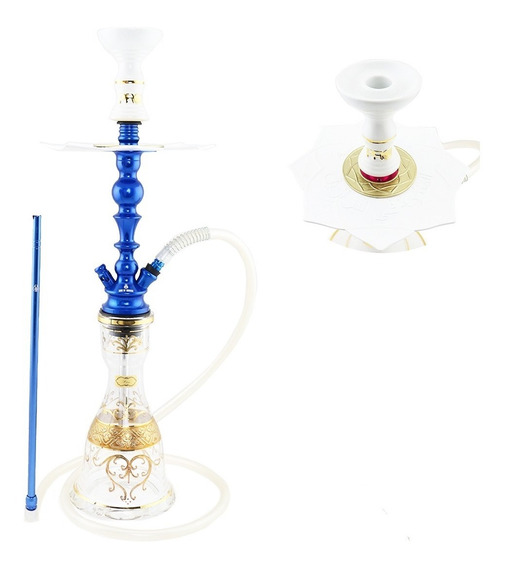 Kit Arguile Gods Of Hookah Mini Cronos Pro Hookah Anti Chama
