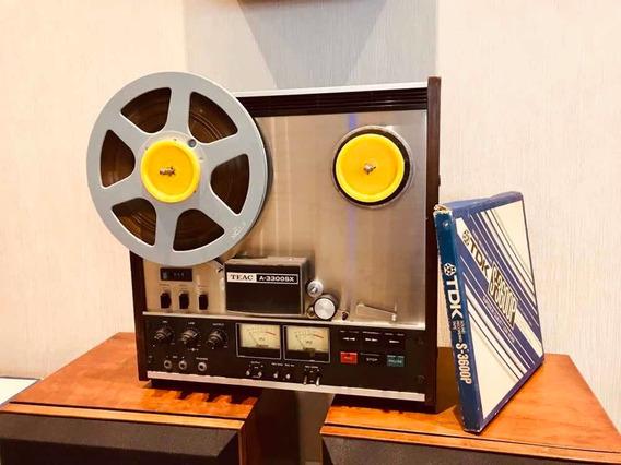 Gravador De Rolo Teac A-3300sx Tape Deck Regence Audio