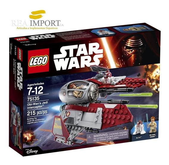 Lego Star Wars 215 Pzs Jedi Interceptor 75135 + 2 Minifigura