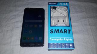 Celular Samsung J7-funcionando Com Detalhes (leia)..